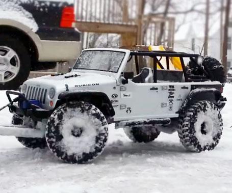 video Remote Control Jeep Wrangler